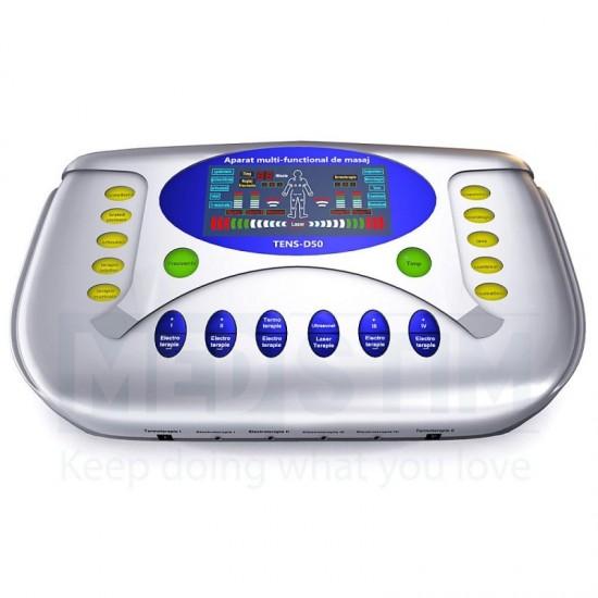 Aparat Fizioterapie cu Laser si Ultrasunet Tens D50 ®